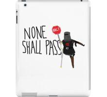 Monty Python Black Knight II iPad Case/Skin