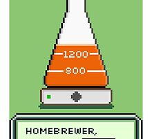 Homebrew Yeast Starter, Press START! by baridesign