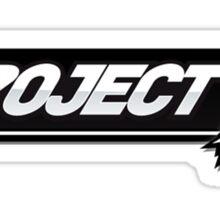 Project M - Lucario Main (Green Alt) Sticker