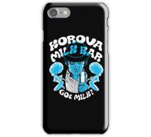 Korova Milk Bar iPhone Case/Skin