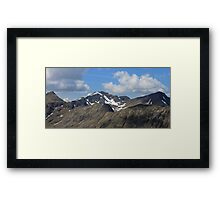 Bidean Nam Bian, Glencoe Framed Print