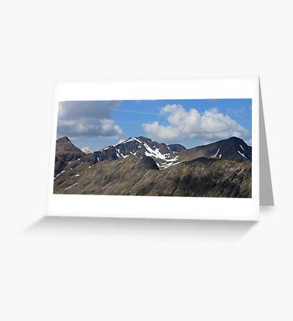Bidean Nam Bian, Glencoe Greeting Card