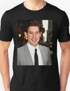 John Krasinski being cute  Unisex T-Shirt