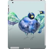 Funny exotic birds iPad Case/Skin