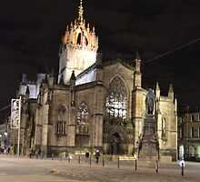 St Giles By Night by spoilmesweetie
