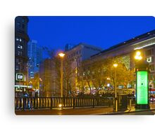 Fifth and Market Canvas Print