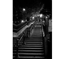 Deserted Staircase Photographic Print