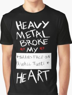 Fall Out Boy Centuries - Heavy Metal Broke My Heart Graphic T-Shirt