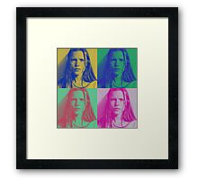 Four Times the Kate Framed Print