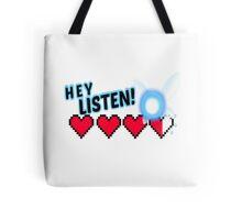 Hey Listen! Tote Bag