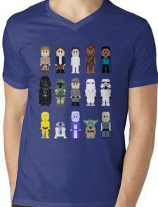 8-Bit ESB Mens V-Neck T-Shirt