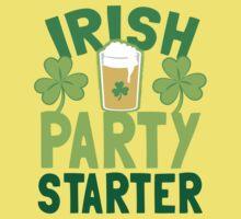 IRISH party STARTER! with pint glass Kids Tee