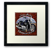 Triumph Thunderbird Easy Rider Framed Print