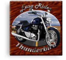Triumph Thunderbird Easy Rider Canvas Print