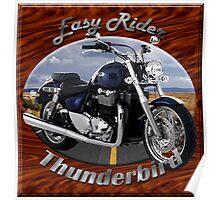 Triumph Thunderbird Easy Rider Poster