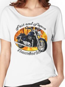 Triumph Thunderbird Fast and Fierce Women's Relaxed Fit T-Shirt