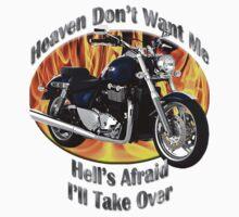 Triumph Thunderbird Heaven Don't Want Me by hotcarshirts