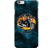 Triumph Thunderbird Heaven Don't Want Me iPhone Case/Skin