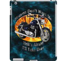 Triumph Thunderbird Heaven Don't Want Me iPad Case/Skin