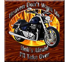 Triumph Thunderbird Heaven Don't Want Me Photographic Print