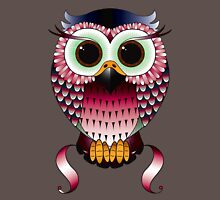 Twit-a-woo Owl Womens Fitted T-Shirt