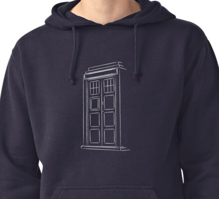 Jump on the TARDIS Pullover Hoodie