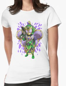 Grape Squash Womens Fitted T-Shirt
