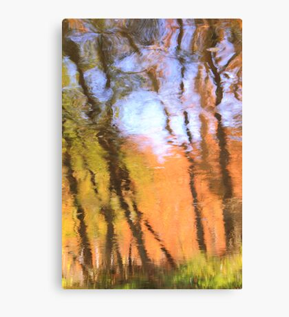 Oak Creek Reflections Canvas Print