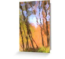 Oak Creek Reflections Greeting Card