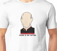 Picard is my Captain (Dark Text) Unisex T-Shirt