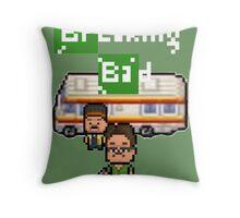 Pixels Breaking Bad Throw Pillow
