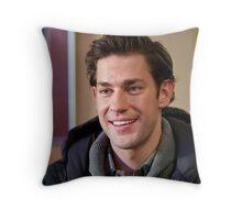 Cute John Krasinski   Throw Pillow