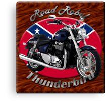 Triumph Thunderbird Road Rebel Canvas Print