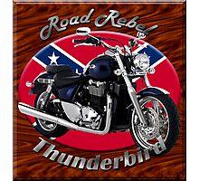 Triumph Thunderbird Road Rebel Photographic Print