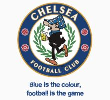Chelsea Football Club Hooligans - Blue is the colour by guavi