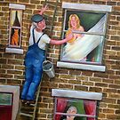 Pervy Window Cleaner by Victoria Stanway