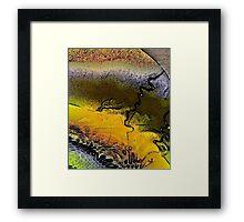 Inner Earth Framed Print