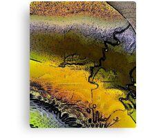 Inner Earth Canvas Print