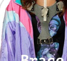 Scream Queens Neck Brace Sticker