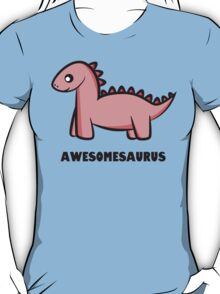 Awesomesaurus (pink) T-Shirt