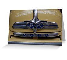 Ford MK 2000 Greeting Card
