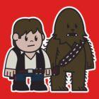 Mitesized Han & Chewwy by Nemons