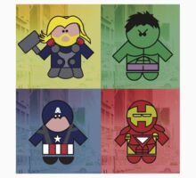 Avengers Assemble by Richard Darani
