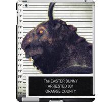 Evil Easter Bunny Rabbit iPad Case/Skin