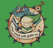 The Wind Will Guide Us One Piece - Short Sleeve