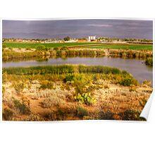 Desert Farmland Poster
