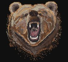 Pixel Bear by Glo-go