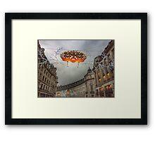 Christmas in London Framed Print