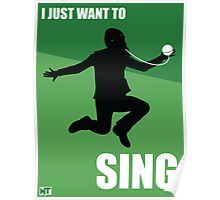 I Just Want to Sing Poster