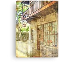 Old Town St. Augustine Metal Print